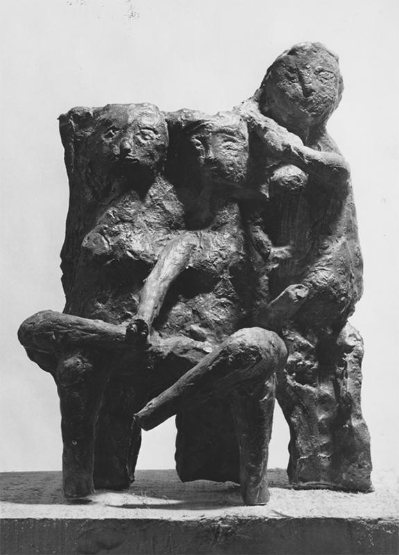Rudolf Schwaiger: Drei Grazien 1964