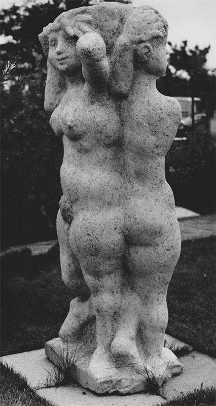 Rudolf Schwaiger: Drei Grazien 1968
