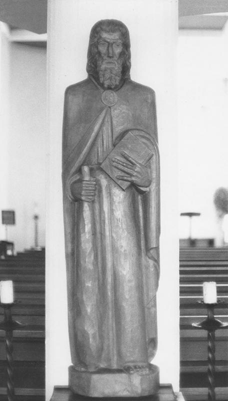 Rudolf Schwaiger: Hl. Taddäus 1948