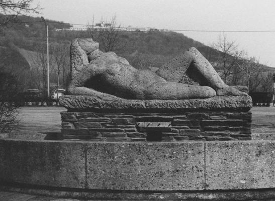 Rudolf Schwaiger: Liegende 1956