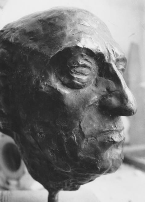 Rudolf Schwaiger: Portraitstudie 1949