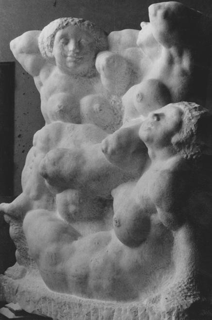 Rudolf Schwaiger: Quellennymphen 1974