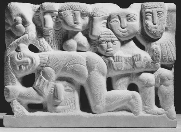 Rudolf Schwaiger: Relief Karneval 3 1964
