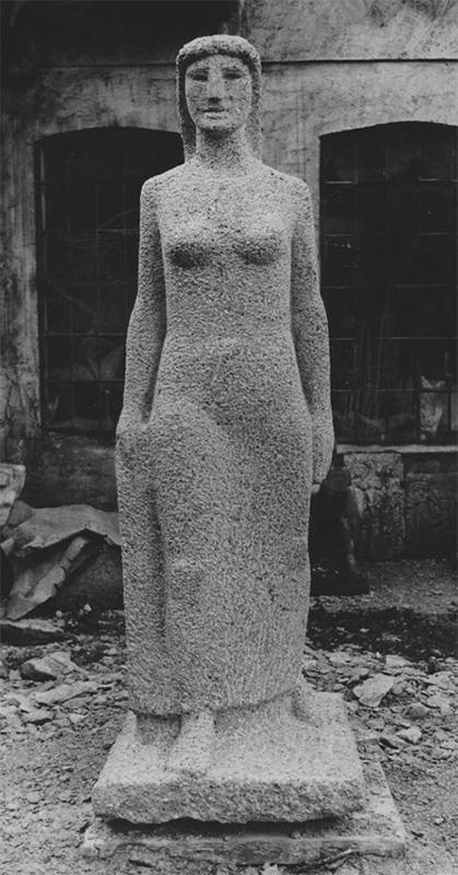 Rudolf Schwaiger: Schreitende 1955