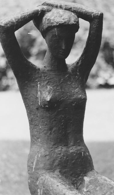 Rudolf Schwaiger: Sitzende 1956