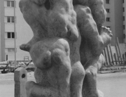 Rudolf Schwaiger: Turnende Knaben 1970