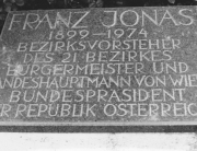 Rudolf Schwaiger - Gedenkstein Franz Jonas 1976