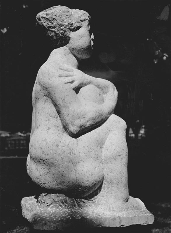 Rudolf Schwaiger Kauernde 1967