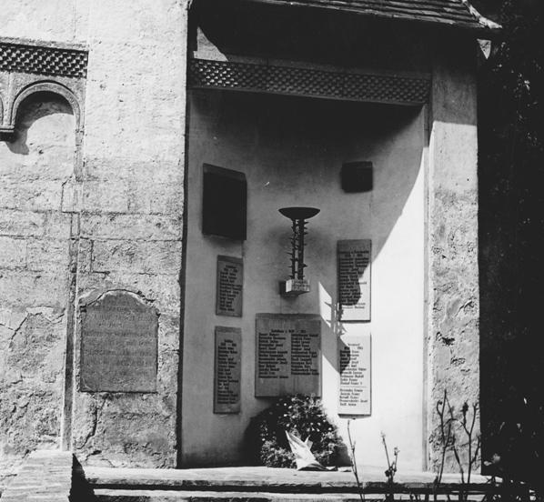 Rudolf Schwaiger - Kriegerdenkmal 1961