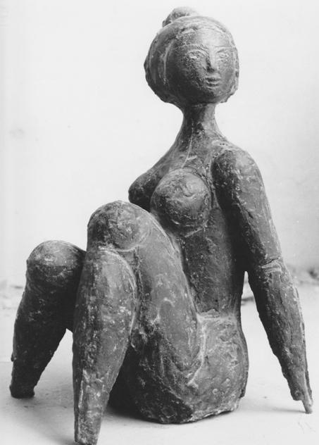 Rudolf Schwaiger - Sitzende 1960